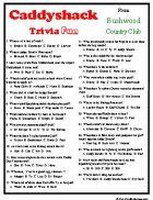 caddyshack trivia, a movie classic