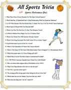 All-Sports and Players Nicknames Trivia