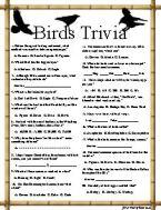 Birds Trivia 3 Games, $2.99