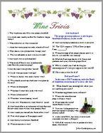Wine Trivia Quiz