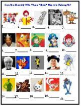 Food Mascot trivia game