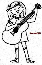 american idol coloring pages - photo#3