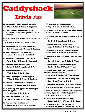 Caddyshack Trivia Is A Fun Way To Recall A Movie Classic