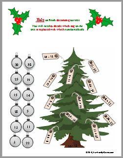 Christmas Fun Trivia, Help Decorate the Tree
