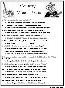 photo regarding Animal Trivia Questions and Answers Printable titled Our nation tunes trivia handles further than several years and furthermore todays