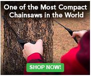 Small Powerful Chainsaw, very handy