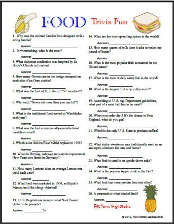 Free Printable New Years Trivia Questions Year Kids Trivia
