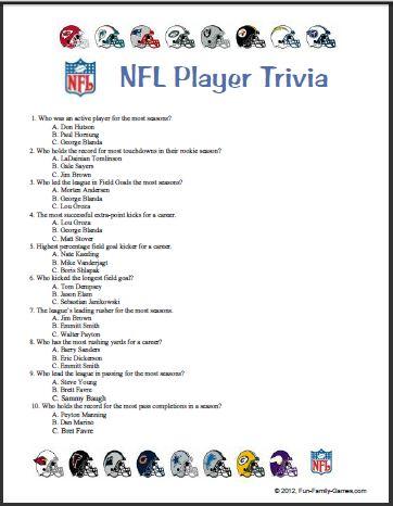 2013 Sports Trivia Questions.html | Autos Post