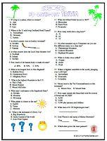 Fun challenging quiz, three game pack